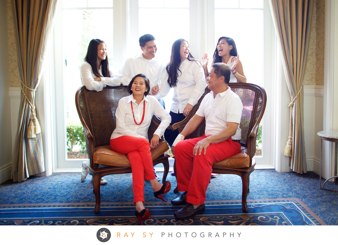 Briones Family Ritz Carlton