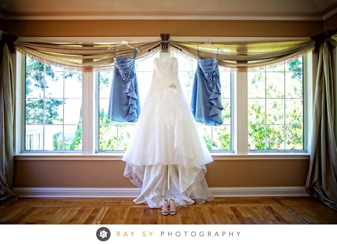 Wedding Dress, Paradise Ridge Winery