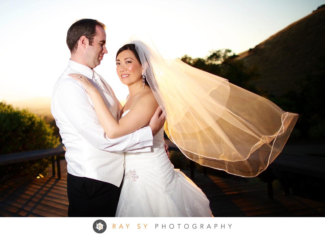 Paradise Ridge Winery, Vineyard Wedding